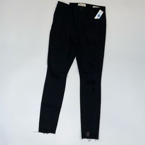 Pacsun mid rise skinny ripped jeans 2B
